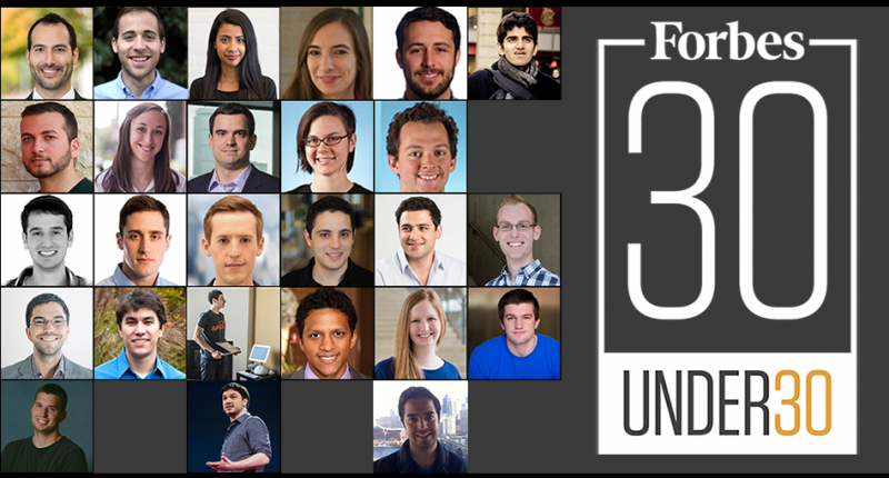 More than 25 from MIT named to Forbes 30 Under 30 lists in 2016