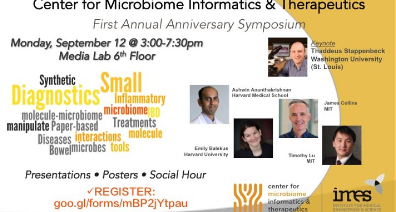 Center for Microbiome Therapeutics & Informatics First Annual Symposium