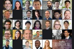 MIT affiliates were well represented in the 2017 Forbes 30 Under 30, honoring young leaders.