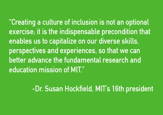 susan hockfield quote inclusion diversity institute for