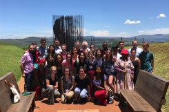 HST.S46 class pictured at the Nelson Mandela Capture site; a national monument.