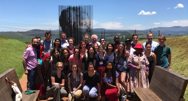 """New HST.S46 IAP course """"Evolution of an Epidemic"""" takes MIT undergrads to the heart of the AIDS epidemic in Africa"""