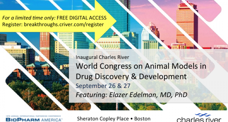 Charles River World Congress on Animal Models in Drug Discovery & Development