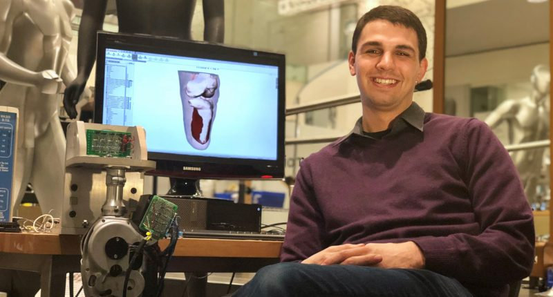 HST student, Tyler Clites, received Lemelson-MIT Student Prize