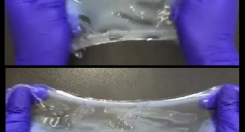 Making tissue stretchable, compressible, and nearly indestructible